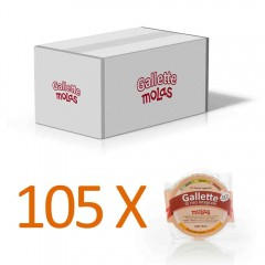 105x Gallette senza sale