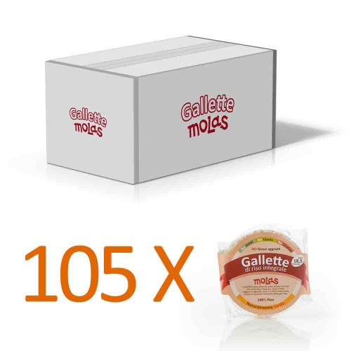 105x Gallette senza sale