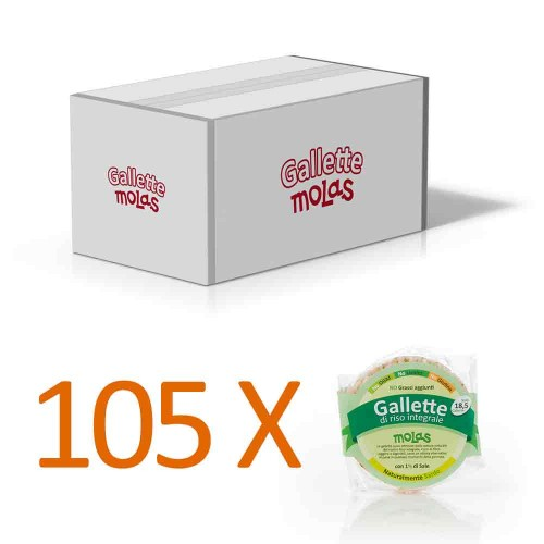 105x Gallette salate