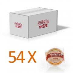 54x gallette senza sale
