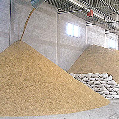La trasformazione del riso